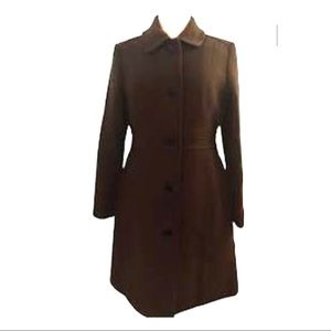 J Crew Lady day Double cloth Wool thinsulate coat
